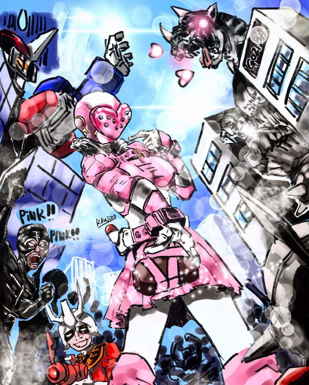 ヒーロー系の絵を描きみんなに喜びを提供します SNSでのトップ画や誕生日の絵などに利用出来る絵です。
