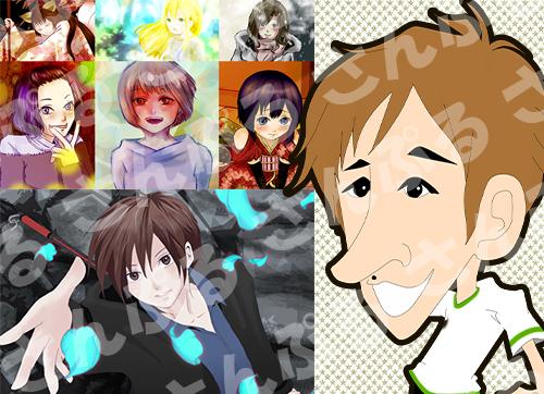 イラスト・似顔絵、SNSアイコンやキャラクターイラスト、挿絵、素材イラストなど、承ります!