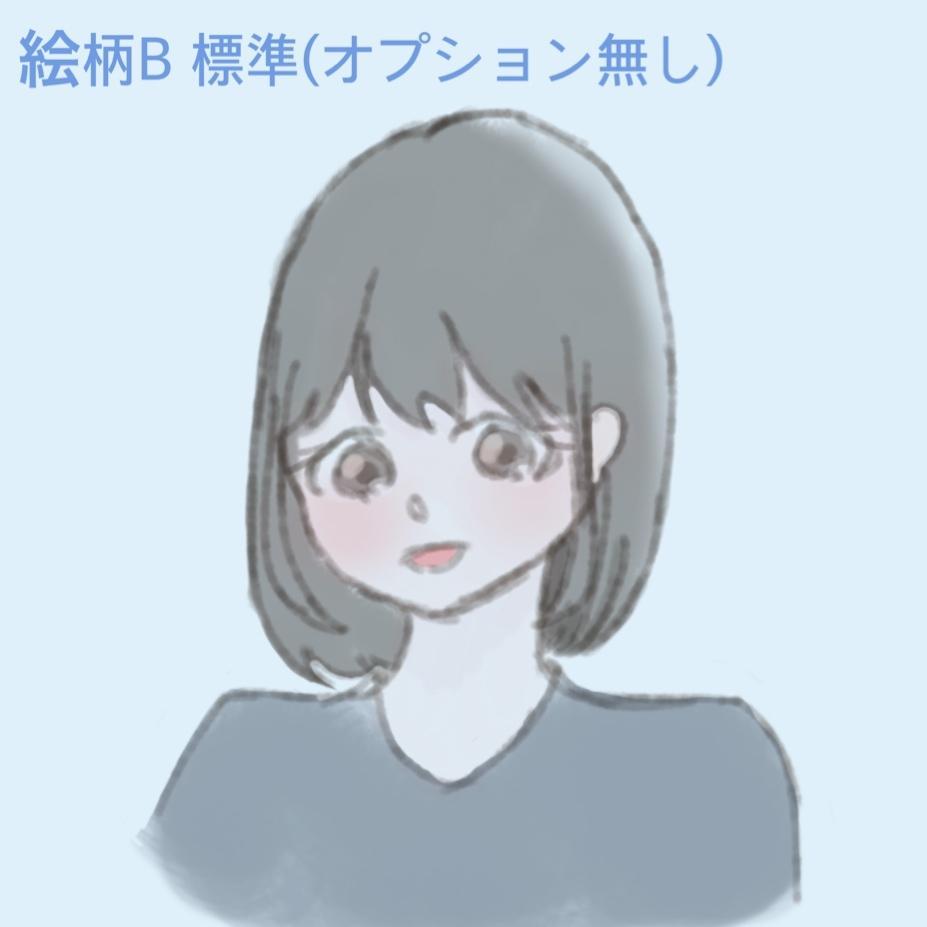 ゆるめでふわふわしたキャラクター描きます ✾2種類の絵柄から選べますお気軽にご相談ください✾