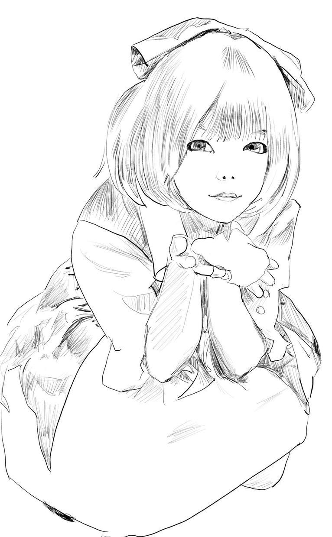 女性キャラクターのイラスト描きます 一枚絵からヘッダー、サムネイル用まで柔軟に対応できます。