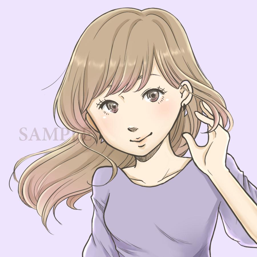SNSアイコン、YouTube用イラスト描きます おまかせなら3000円ポッキリ!まずはメッセージください♪ イメージ1