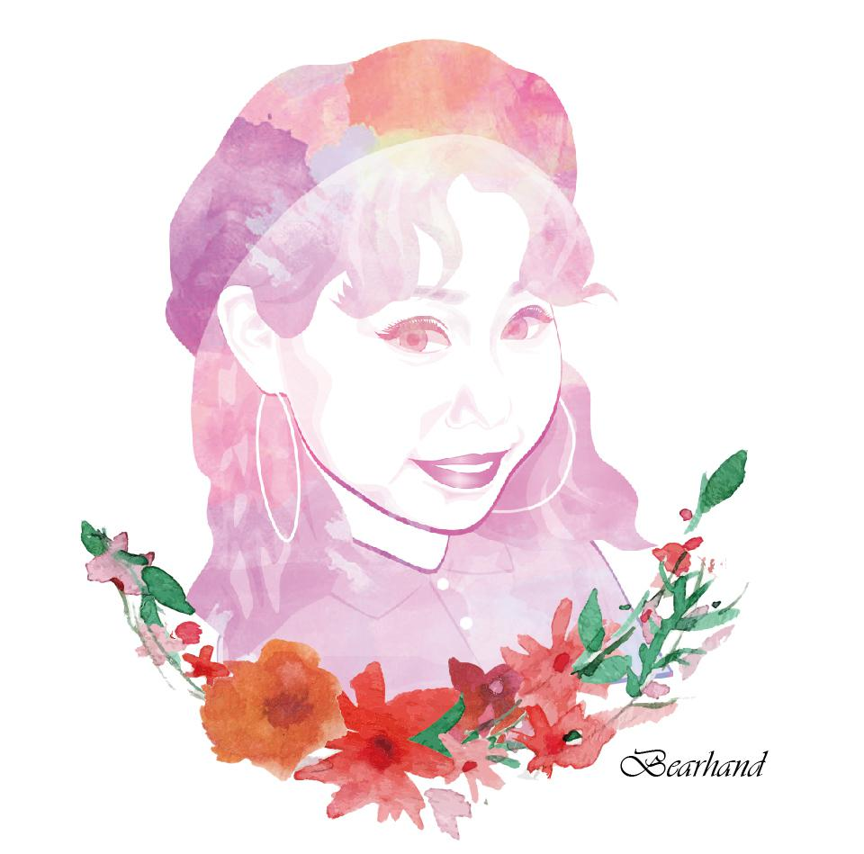 水彩タッチ★キュートでオシャレな似顔絵お描きします ご自分用の名刺やアイコンはもちろん☆プレゼントにもぴったり♪