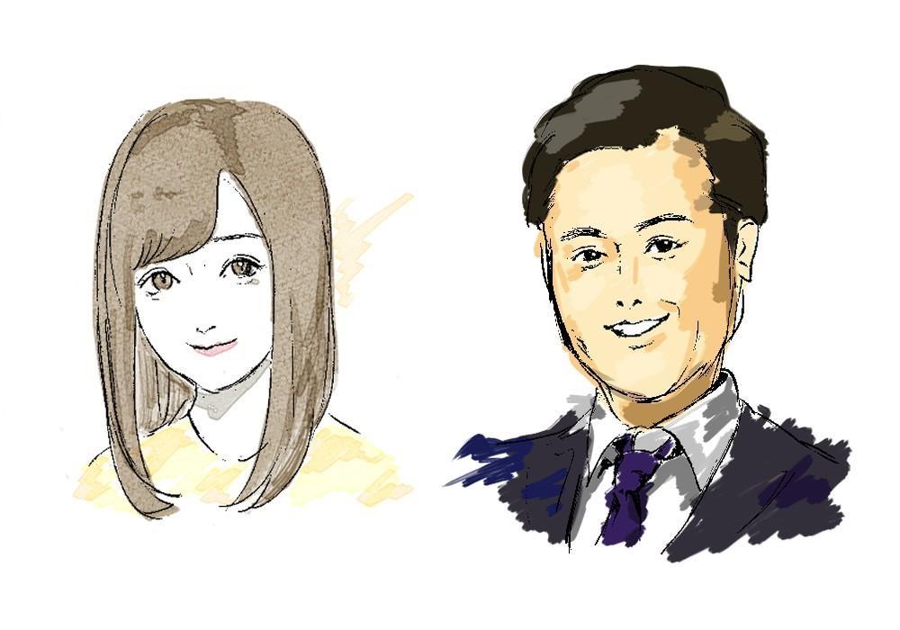 どんな希望の絵でもお描きします ☆最短1日☆写真通り☆美化可☆アイコン名刺プレゼントに!!!
