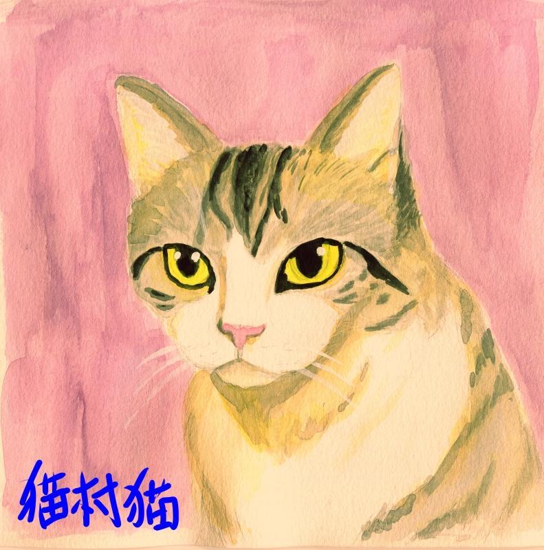 貴方の大切な猫や犬を描きます。