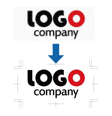 既存のロゴ画像等を印刷用ai形式にて複製します ステッカー、のぼり、看板、その他印刷物など  色々な用途に!