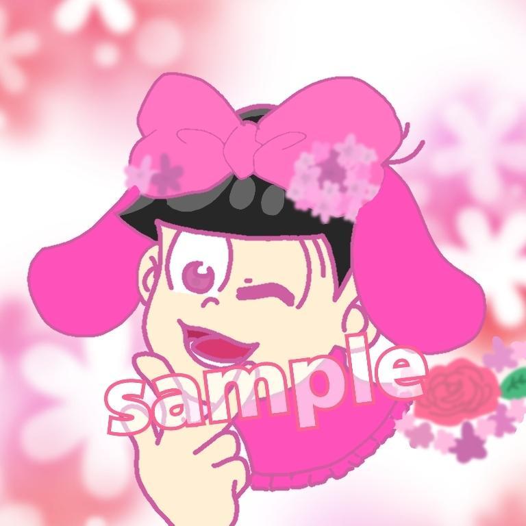 SNSで使うアイコンイラスト制作します 版権アニメ・ゲームキャラクター、オリジナル可能!