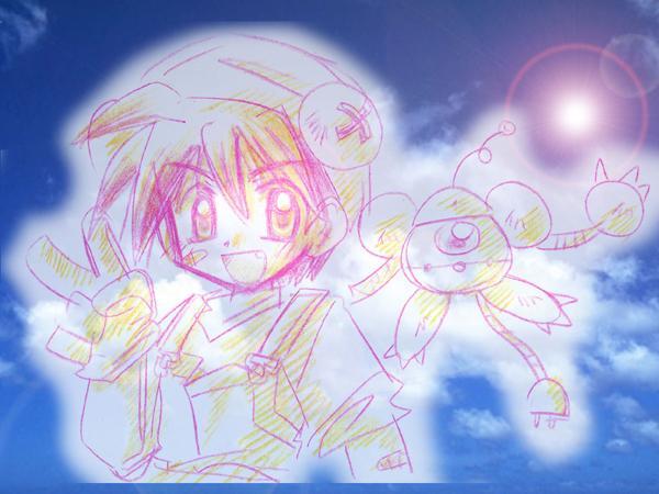 萌え絵からコミカル、少年漫画風、メッセージイラストを描かせていただきます。使用用途は様々で。