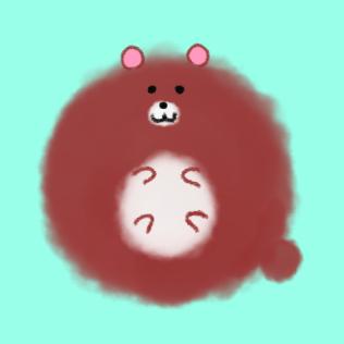 ふわふわな動物アイコン描きます わたあめみたいな動物のイラスト!