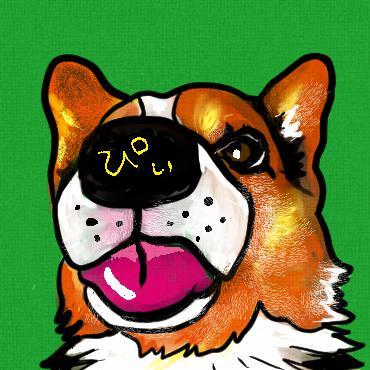 愛犬のアイコン描きます リアル寄りですがビビッドなイメージです イメージ1