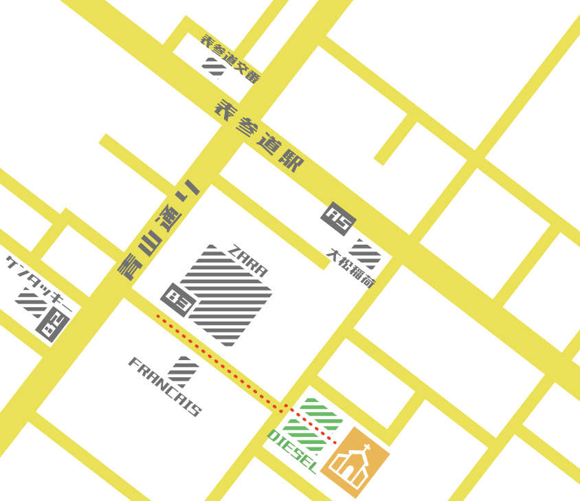 おしゃれでわかりやすい地図つくります プロのデザイナーによる多ジャンル対応ハイセンスマップ