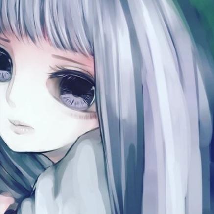 SNS等のアイコン(女の子、男の子)描きます メンヘラ、病みかわいいアイコン制作します!