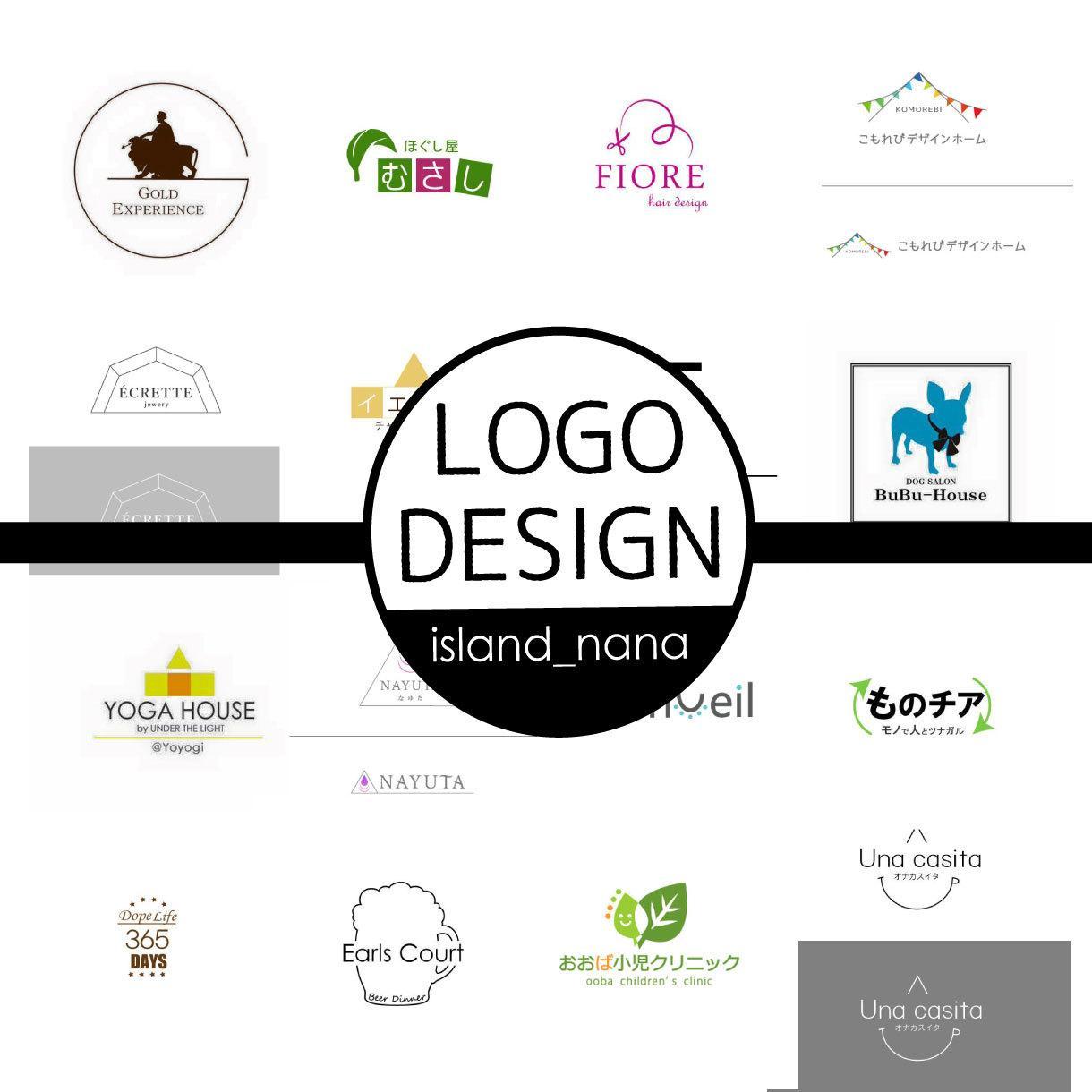開業、リブランディング応援!お店のロゴ作成します シンプルで今風なロゴを制作!プロのデザインを手頃な価格で イメージ1