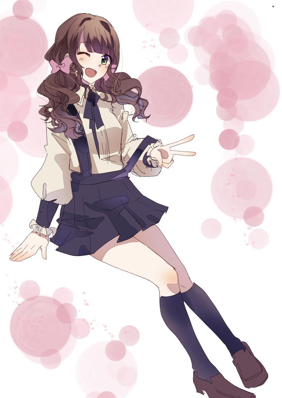 女の子のイラストを描きます SNSアイコン等にお力添えをさせて頂きます。