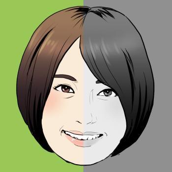 写真を元に似顔絵イラスト作成いたします|SNSのアイコンやプロフィール、ブログ等に