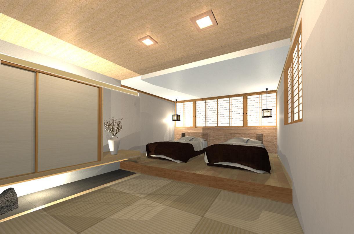 建築パース(住宅・店舗・オフィス) 作ります 建築士がつくる内観パースなのでやりとりスムーズです