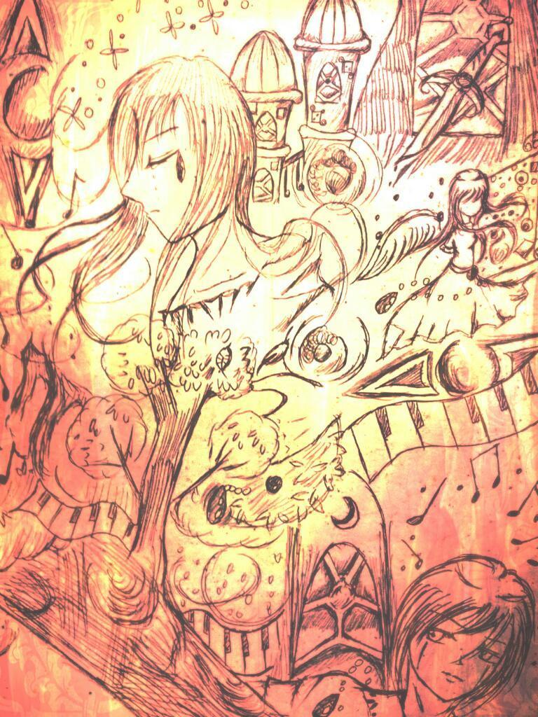 貴女のオリジナル小説の表紙、挿絵、イメージイラストをお描きします。