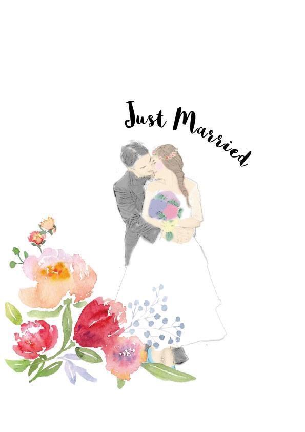 結婚式用のイラスト描きます!