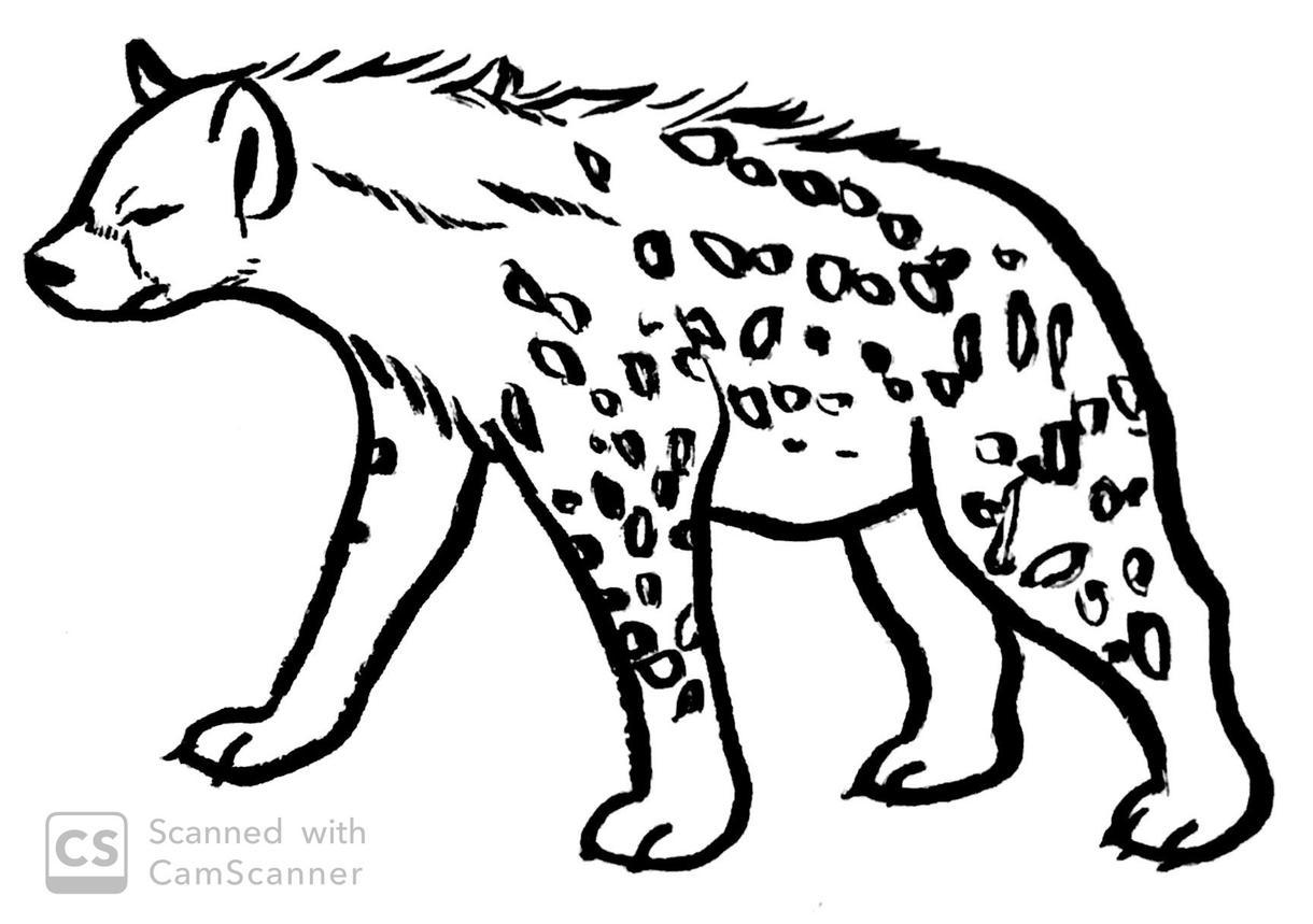 動物の絵(白抜き)描きます ぬりえや教材に使える!使い勝手の良い動物のモノクロ絵!