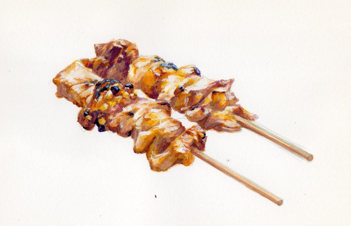 食べ物のイラストを描きます メニューや広告などパッと目を惹くデザインに
