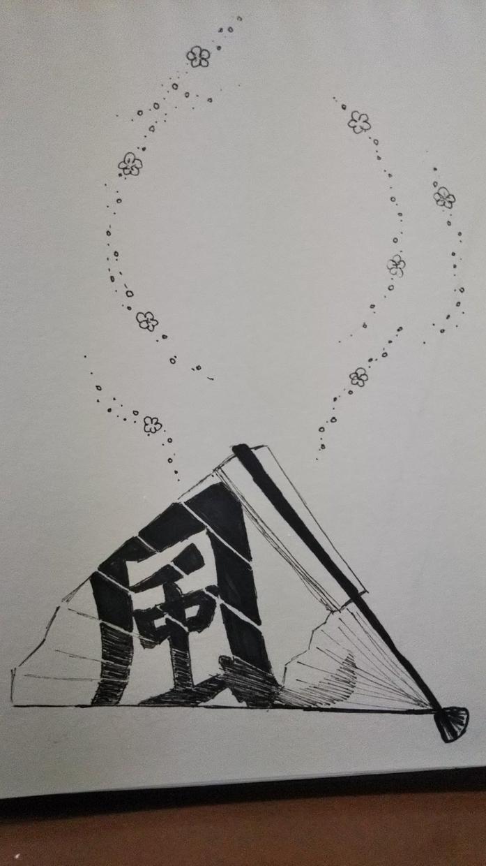 アイコンイラスト描きます ゼンタングルとコミックイラストの個性的なミックスイラスト