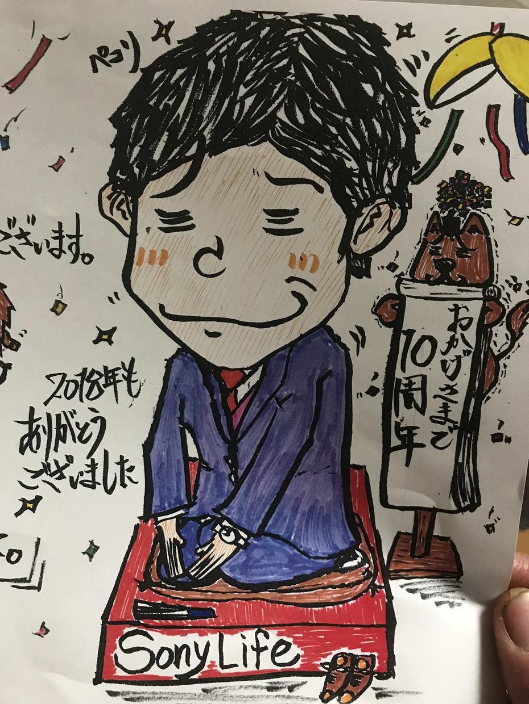 イラスト描きます アニメキャラクター、似顔絵を筆ペンで イメージ1
