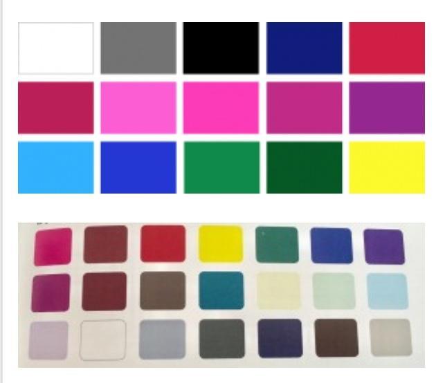 テーマにあった色合いを提案いたします 表現したいイメージの色の組み合わせがわからないときに! イメージ1