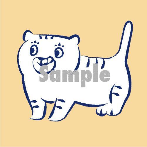 シンプルな動物イラストの作成承ります SNSのアイコンや名刺チラシなどのワンポイントに★