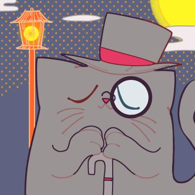レトロ可愛いねこちゃんアイコンをデザインします あなた自身をねこちゃん化!?大切な愛猫ちゃんも描きます!