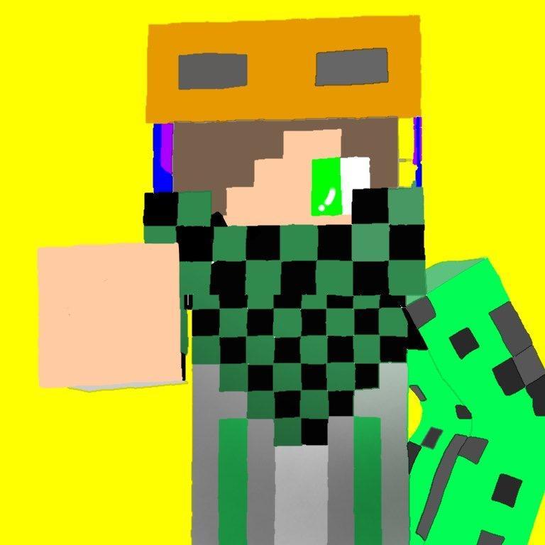 SNS用のアイコンを描きます!(Minecraft)