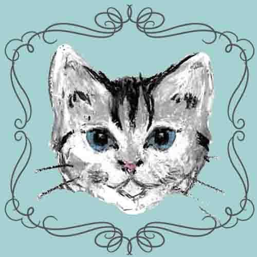 大切なペットのイラスト 作りませんか?ほっこり暖かみのある クレヨン画 をお描きします。