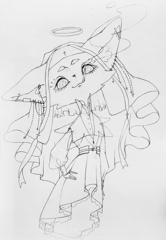 アナログ+デジタル着色のイラスト描きます 女の子!動物!手描き感!可愛い!絶対被らない可愛さを…