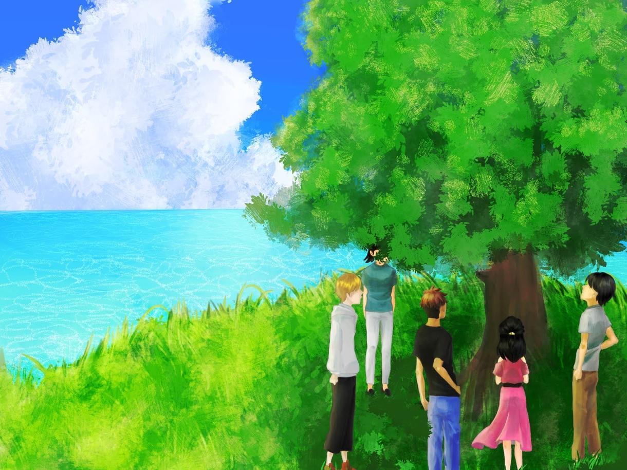イラスト・背景・アニメ絵受け付けます 自然溢れる背景やYouTubeのサムネイルなんでもどうぞ イメージ1
