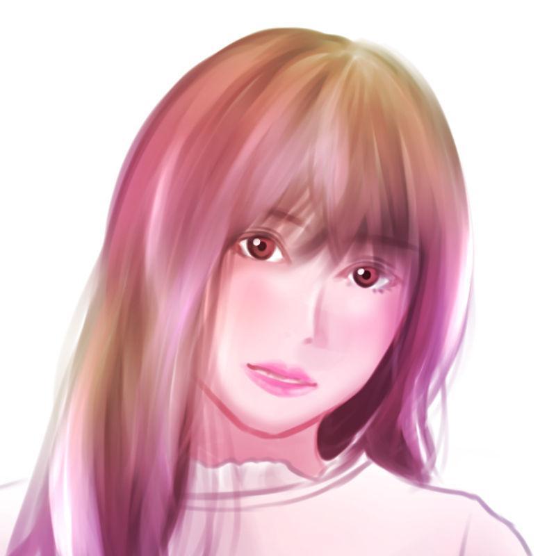 おしゃれな厚塗り風似顔絵をお描きします お好みのおしゃれなフィルターをおかけします