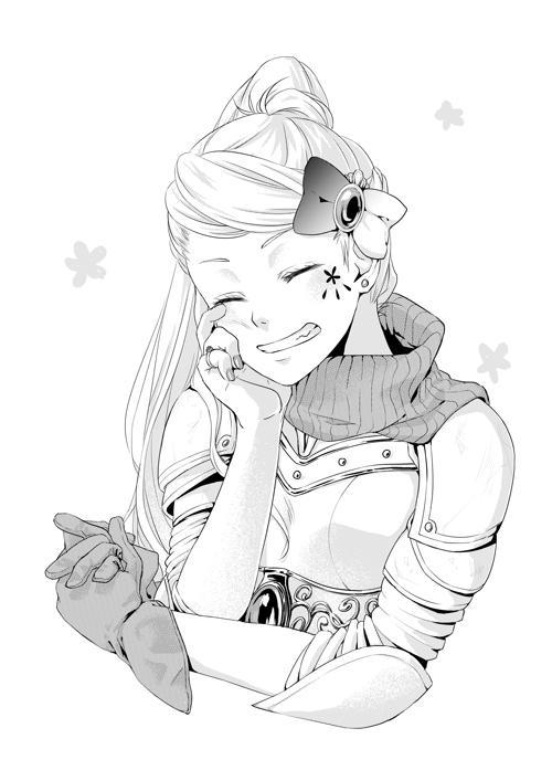 表紙・挿絵などのモノクロイラストを描きます 漫画・アニメ・ゲームなどの創作好きさんにおすすめ!