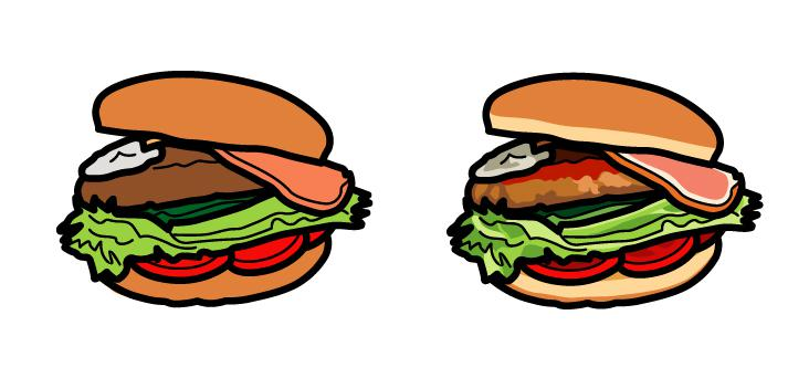 飲食物のアイコン・イラスト作成します 目を引く飲食物のアイコン・イラスト作成します。