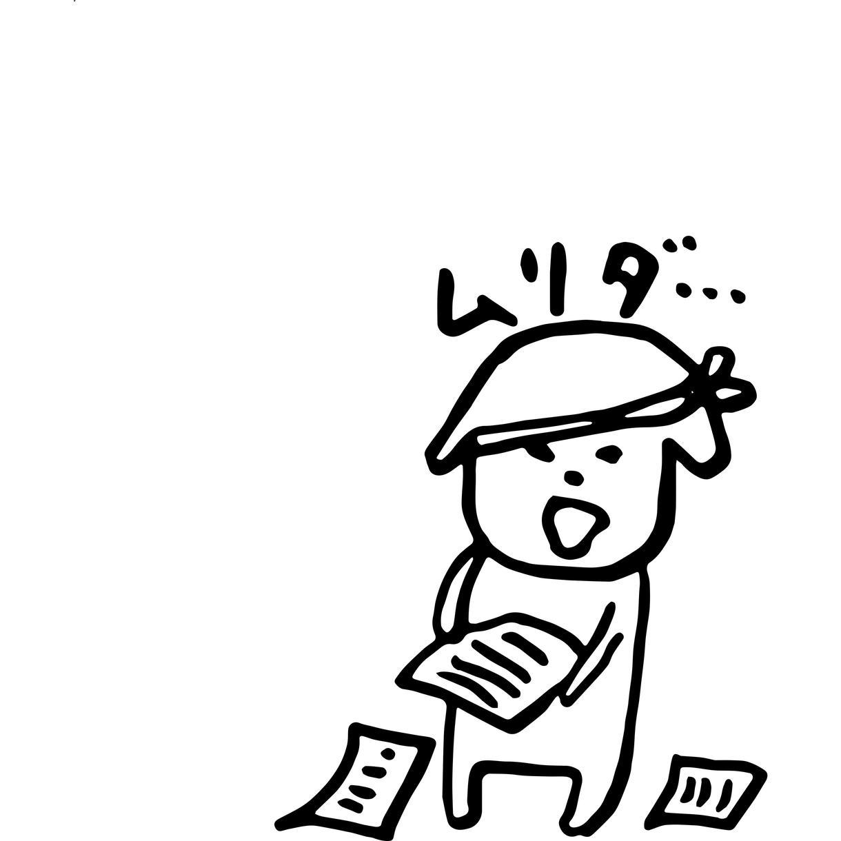 アイコンに使える!ゆるいイラスト手書き文字かきます SNSやLINEのアイコンをオリジナルイラストにしませんか?