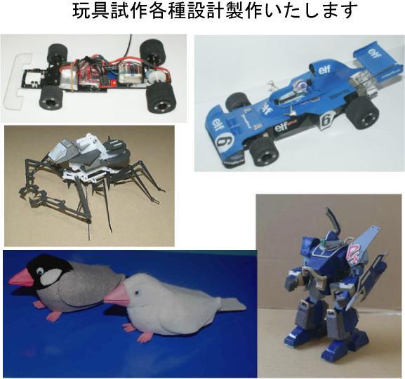 いろんな玩具試作設計製作いたします 電動、ゼンマイ駆動、動くおもちゃ等色々作ります イメージ1
