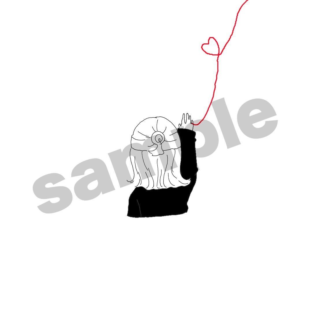 シンプルなかわいいイラストアイコン作ります モノクロメインで素朴かわいい! イメージ1