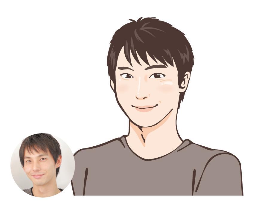 《休止中》【ほっこり似顔絵】見る人が笑顔になるような似顔絵お描きします。