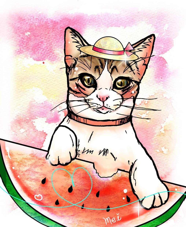 ペットの似顔絵イラスト描きます プレゼント探しや動物好きな方へ