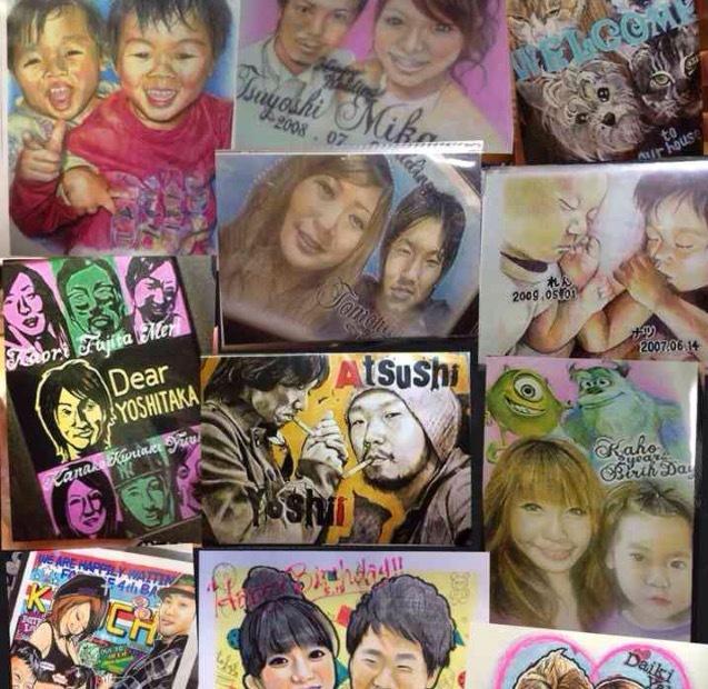 写真を元に色々なタッチの似顔絵をお描きします 記念に!プレゼントに!今まで描いた人数2000人越えました!