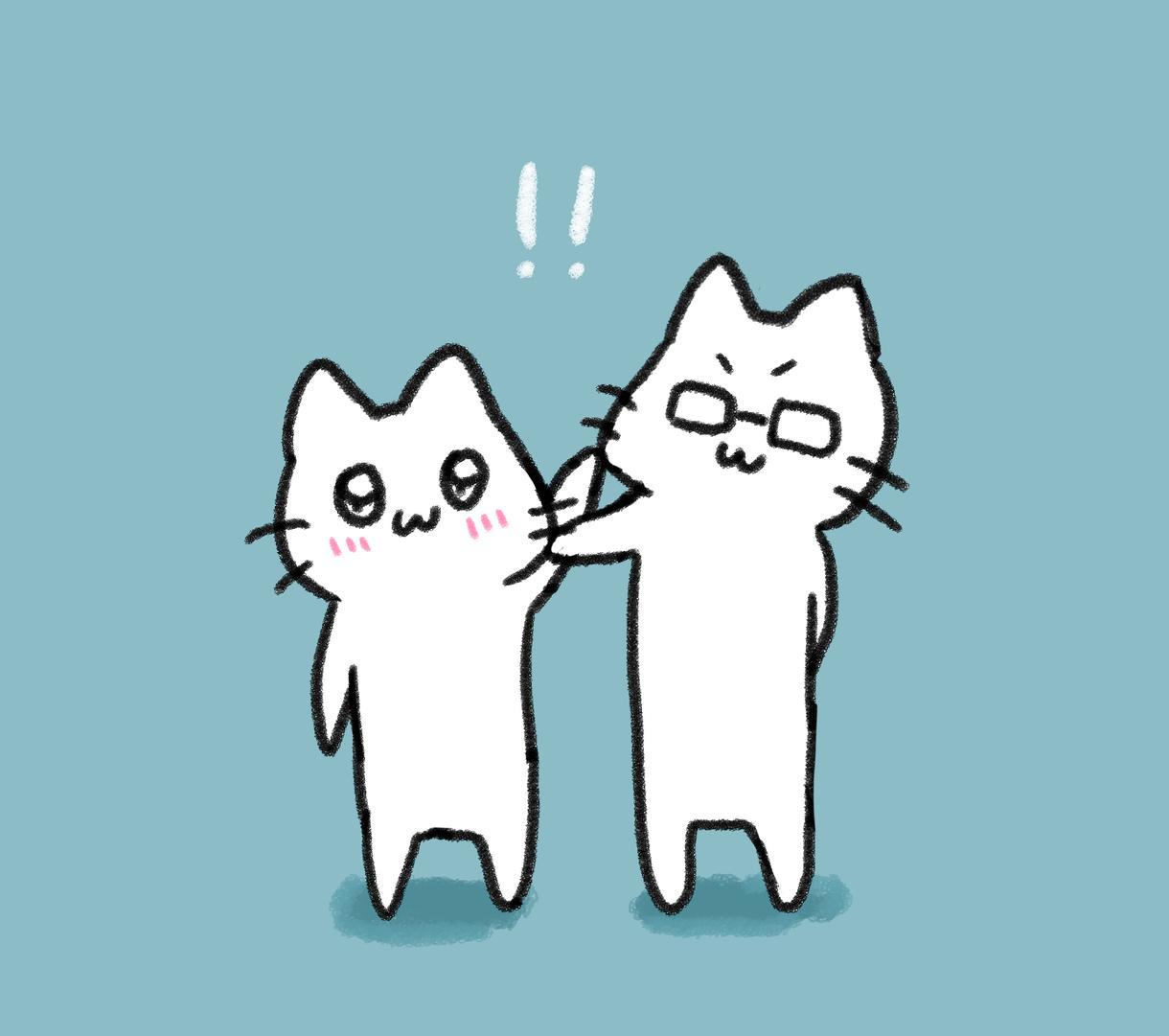 猫が登場人物のゆるい漫画を描きます 漫画にしたい話がある!という方、是非描かせてください!