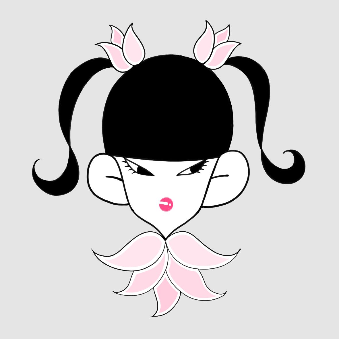 女の子のアイコン描きます ファンアートやSNS用アイコンにどうぞ! イメージ1