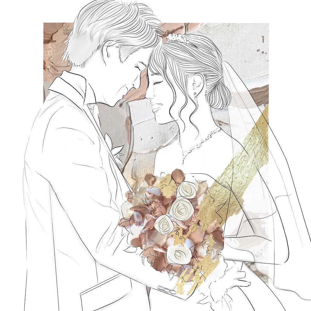 結婚式のウェルカムボード描きます あなただけのオリジナルデザインを提供します イメージ1