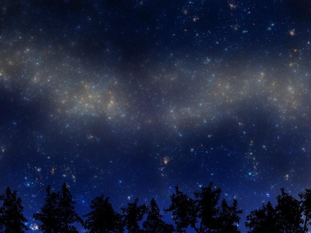 星空を描きます 携帯の待ち受けやイラストの背景などにご使用ください