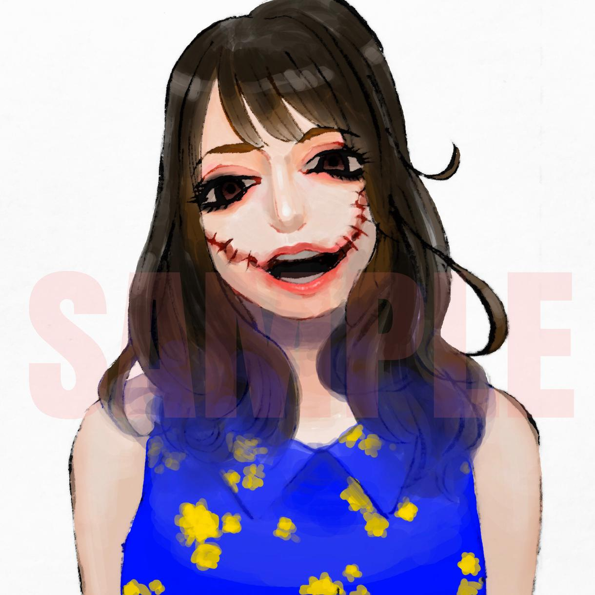 妖怪似顔絵描きます SNSのアイコンなどにご利用ください!