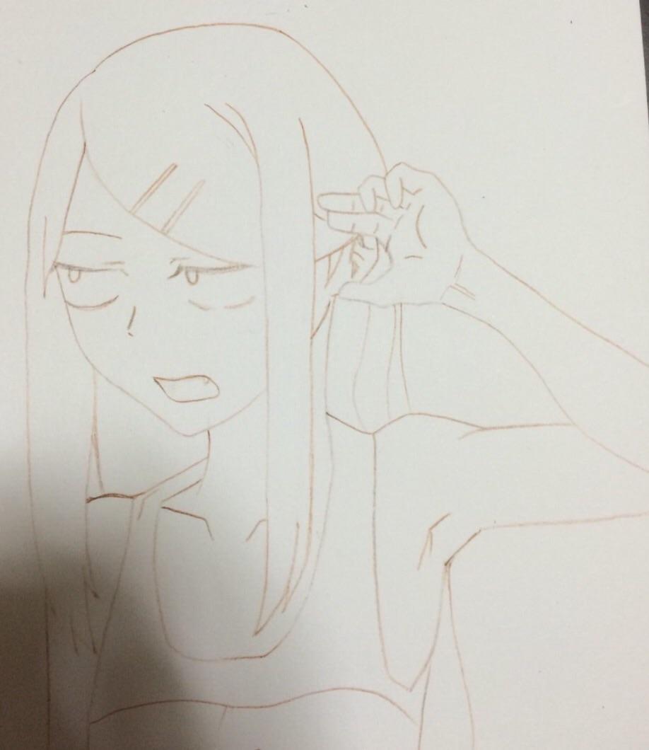 オリジナルキャラ描きます。