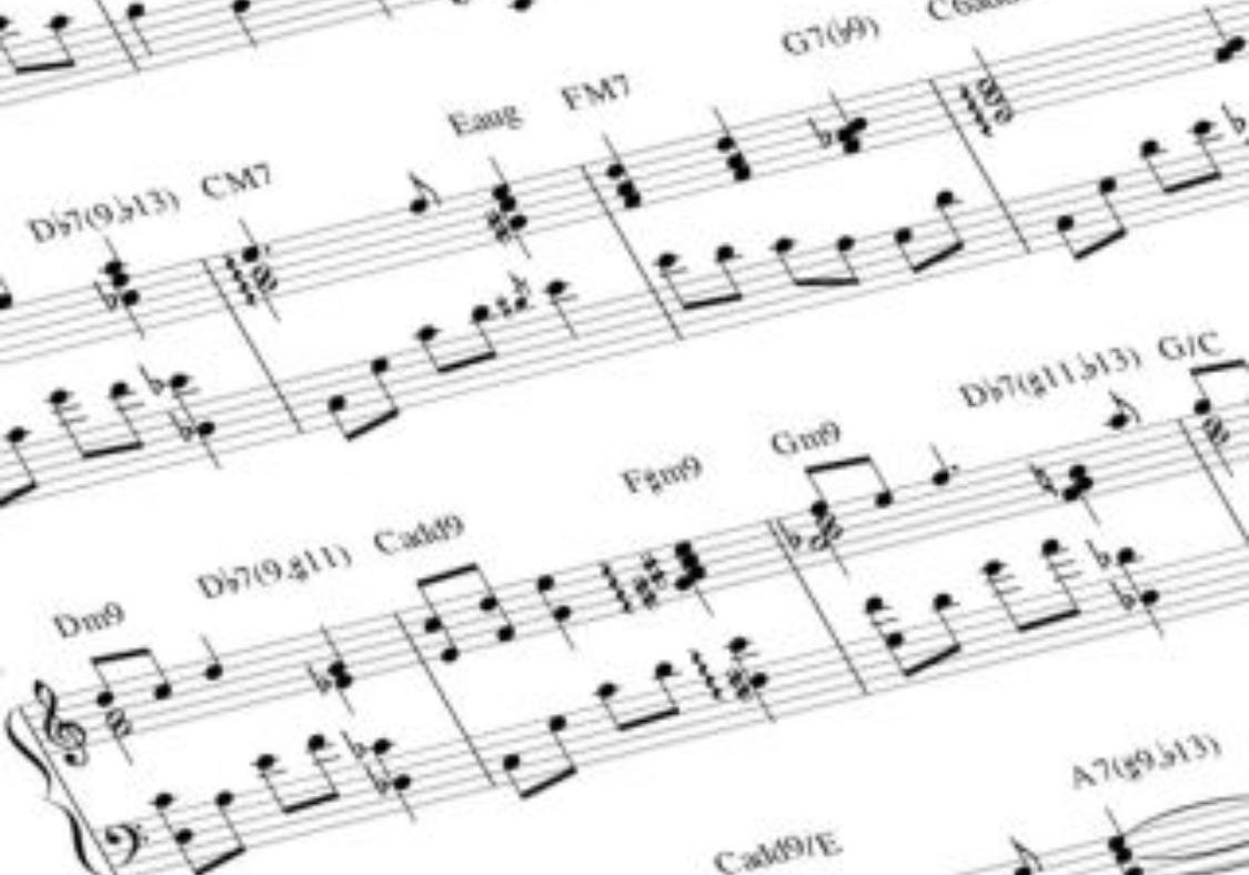 楽譜の移調、承ります 楽譜を、希望のキー、調に移調しお渡しします!