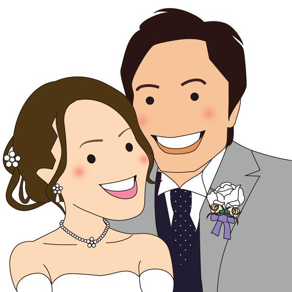 キャラクター風に あなたの似顔絵を 作成いたします ちょっと変わった可愛いタッチの似顔絵が欲しい人にオススメ