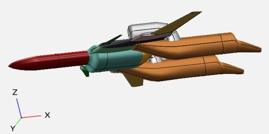 航空機3D-CADモデルを作成します ゲーム素材・解析等に使える航空機3Dモデル。車や船も対応可